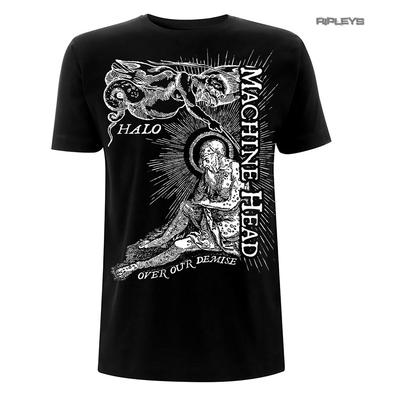 Official T Shirt MACHINE HEAD The Blackening 'Halo' Lyrics Black All Sizes