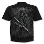 SPIRAL Direct Unisex T Shirt Gothic TACTICAL Reaper Army Camo All Sizes Thumbnail 4