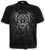 SPIRAL Direct Unisex T Shirt Gothic TACTICAL Reaper Army Camo All Sizes Thumbnail 2
