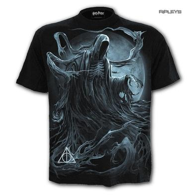 SPIRAL Direct Unisex T Shirt Gothic DEMENTOR Harry Potter Dark Mark All Sizes