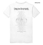 Official T Shirt DREAM THEATER Distance Tour 2019 'Skull Fade Out' All Sizes Thumbnail 3