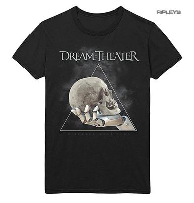 Official T Shirt DREAM THEATER Distance Tour 2019 'Skull Triangle' All Sizes