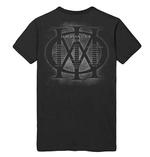 Official T Shirt DREAM THEATER Distance Tour 2019 'Skull Triangle' All Sizes Thumbnail 4