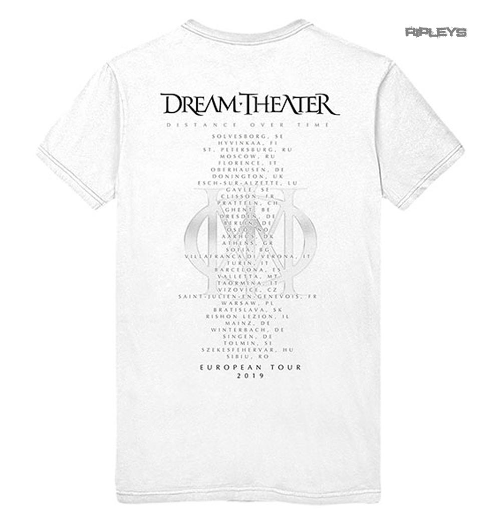 Official-T-Shirt-DREAM-THEATER-Distance-Tour-2019-039-Skull-Fade-Out-039-All-Sizes thumbnail 12