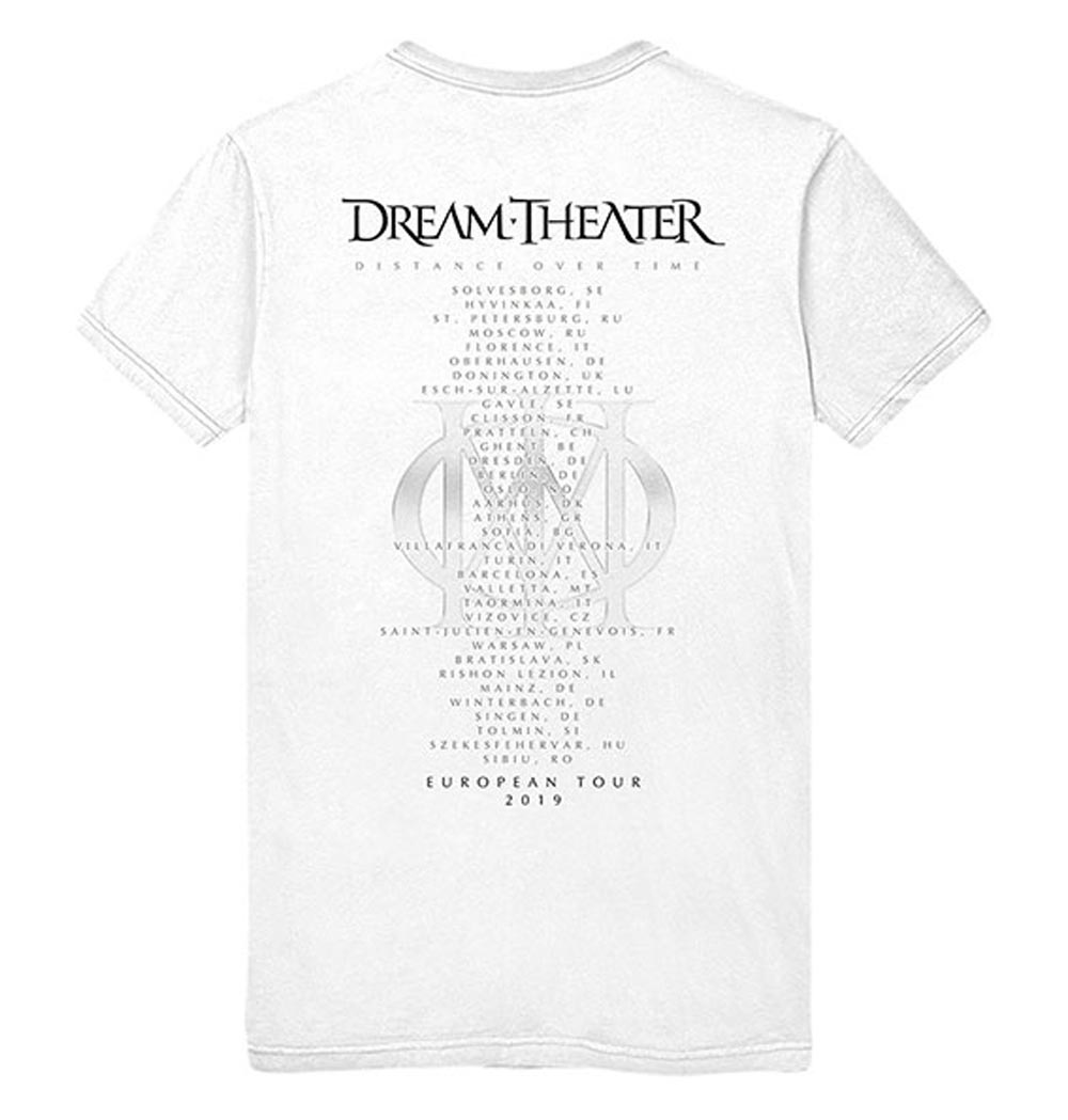 Official-T-Shirt-DREAM-THEATER-Distance-Tour-2019-039-Skull-Fade-Out-039-All-Sizes thumbnail 9