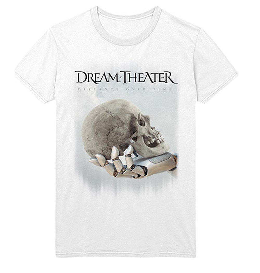 Official-T-Shirt-DREAM-THEATER-Distance-Tour-2019-039-Skull-Fade-Out-039-All-Sizes thumbnail 7