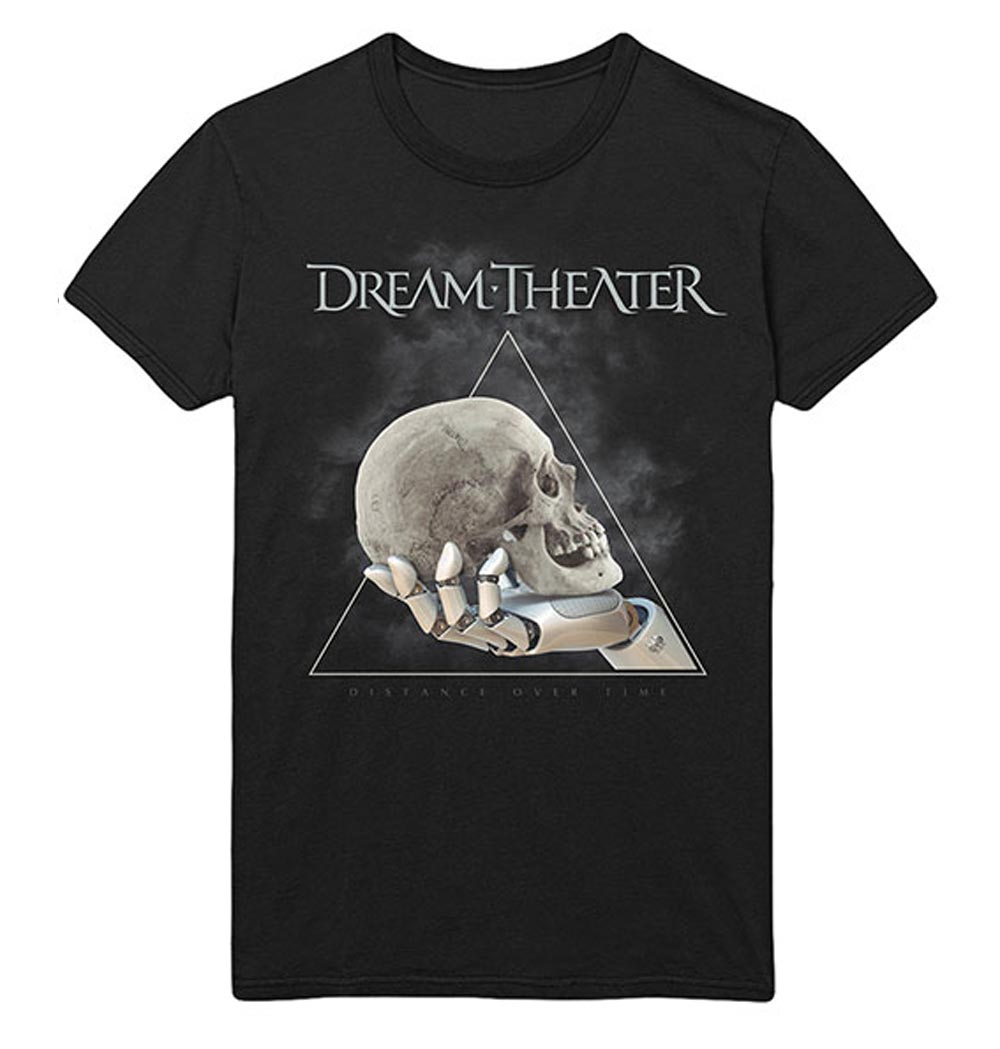 Official-T-Shirt-DREAM-THEATER-Distance-Tour-2019-039-Skull-Triangle-039-All-Sizes thumbnail 3