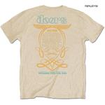 Official T Shirt THE DOORS Jim Morrison Vintage '1968 Tour' Sand All Sizes Thumbnail 3