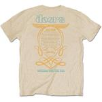 Official T Shirt THE DOORS Jim Morrison Vintage '1968 Tour' Sand All Sizes Thumbnail 4