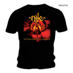 Official T Shirt NILE Death Metal Album Gold  'Annihilation of the Wicked' Thumbnail 1
