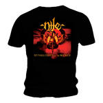Official T Shirt NILE Death Metal Album Gold  'Annihilation of the Wicked' Thumbnail 2