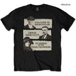 Official T Shirt PEAKY BLINDERS Shelby Brothers 'This Is Our City' Black All Siz Thumbnail 1