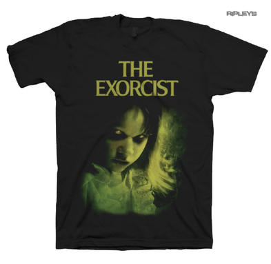 Official T Shirt THE EXORCIST Classic Horror Movie 1973 Regan All Sizes