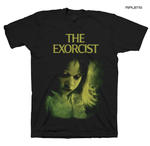 Official T Shirt THE EXORCIST Classic Horror Movie 1973 Regan All Sizes Thumbnail 1