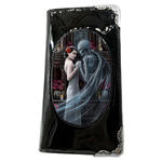 ANNE STOKES 3D SMALL Purse Wallet Black PVC Gothic Skeleton 'Forever Yours' Thumbnail 2