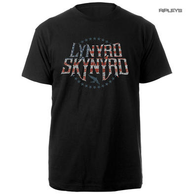 Official T Shirt LYNYRD SKYNYRD Vintage Logo 'Stars & Stripes' All Sizes