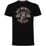 Official KYD T Shirt GMG Gas Monkey Garage Hot Rod  'Twin Flags' All Sizes Thumbnail 2