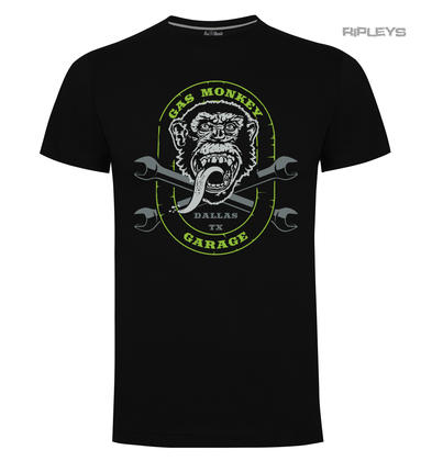 Official KYD T Shirt GMG Gas Monkey Garage Hot Rod  'Cross Spanners' All Sizes
