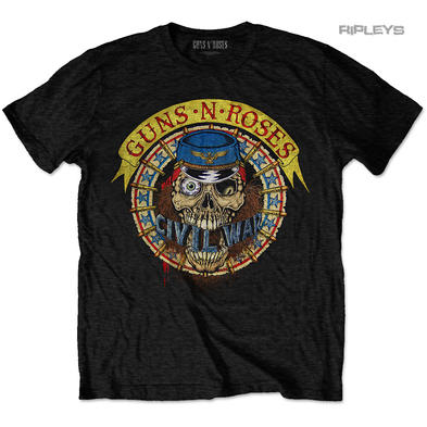 Official T Shirt Guns n Roses Civil War 'Skull Circle' USA Tour 1991 All Sizes