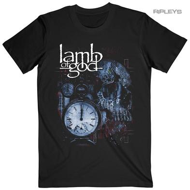 Official T Shirt Lamb of God  Heavy Metal  'Circuitry Skull Recolor' All Sizes