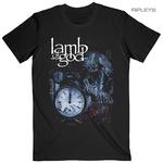 Official T Shirt Lamb of God  Heavy Metal  'Circuitry Skull Recolor' All Sizes Thumbnail 1