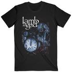 Official T Shirt Lamb of God  Heavy Metal  'Circuitry Skull Recolor' All Sizes Thumbnail 2