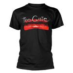 Official Black T Shirt THE CURE Album Kiss Me Kiss Me Kiss Me All Sizes Thumbnail 2