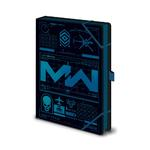 Official CALL OF DUTY A5 Notebook Blue ICONS Modern Warfare Game Christmas Gift Thumbnail 2