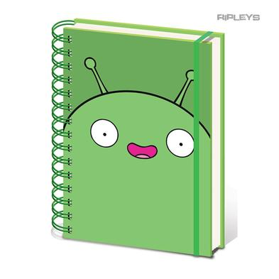Official FINAL SPACE A5 Notebook Journal Stationery MOONCAKE Green Alien
