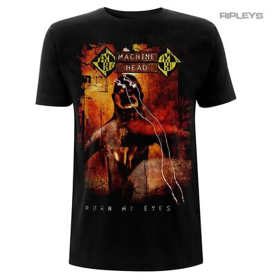 Official T Shirt Metal MACHINE HEAD Album Cover 'Burn My Eyes' All Sizes