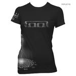 Official Ladies Black T Shirt TOOL Fear Inoculum 'Spectre Babydoll' All Sizes Thumbnail 1
