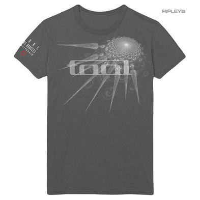 Official T Shirt Metal Rock TOOL Fear Inoculum 'Spectre Spike' Grey All Sizes