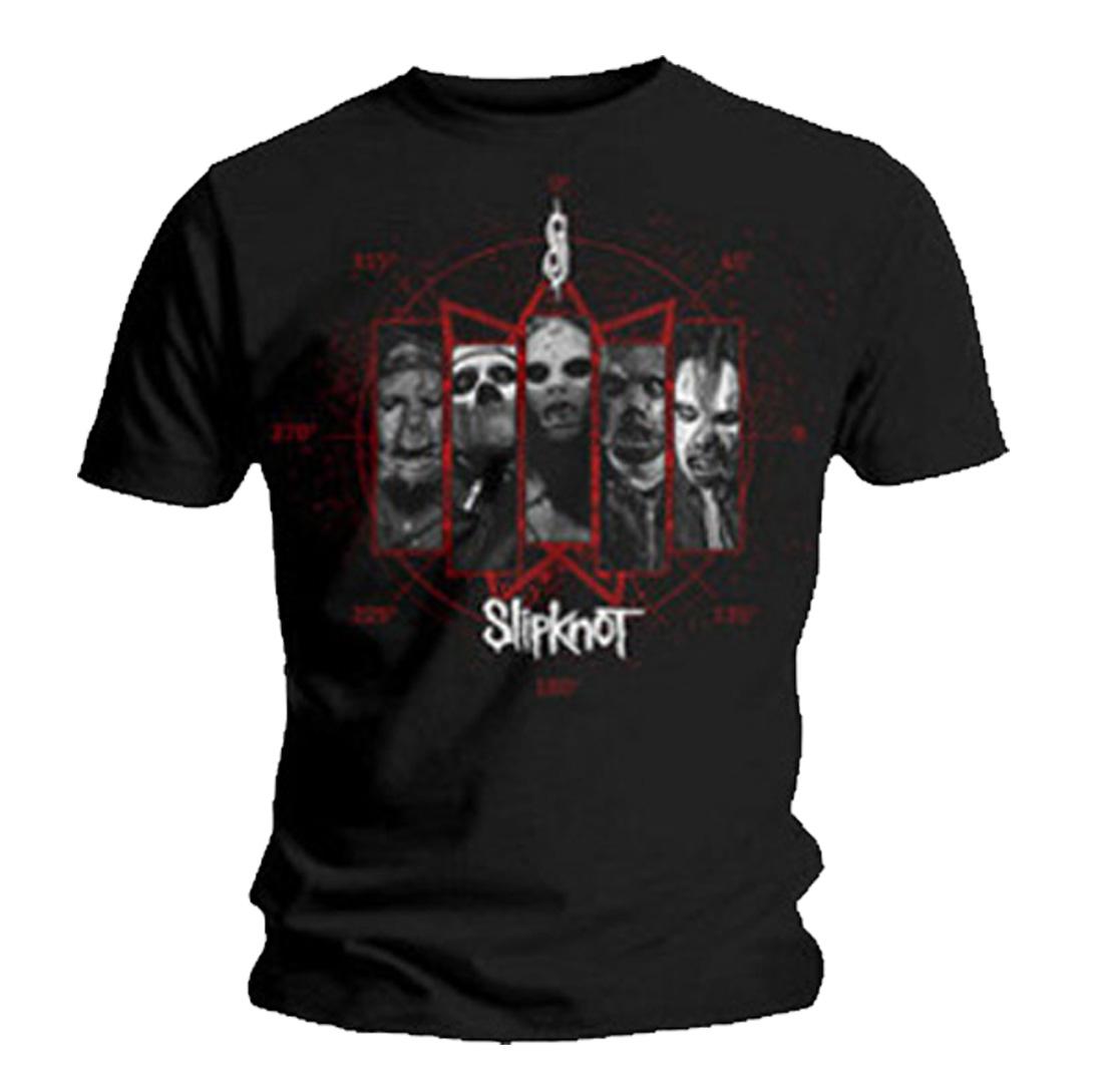 Official-T-Shirt-SLIPKNOT-Band-Logo-PAUL-GRAY-All-Sizes miniatuur 7