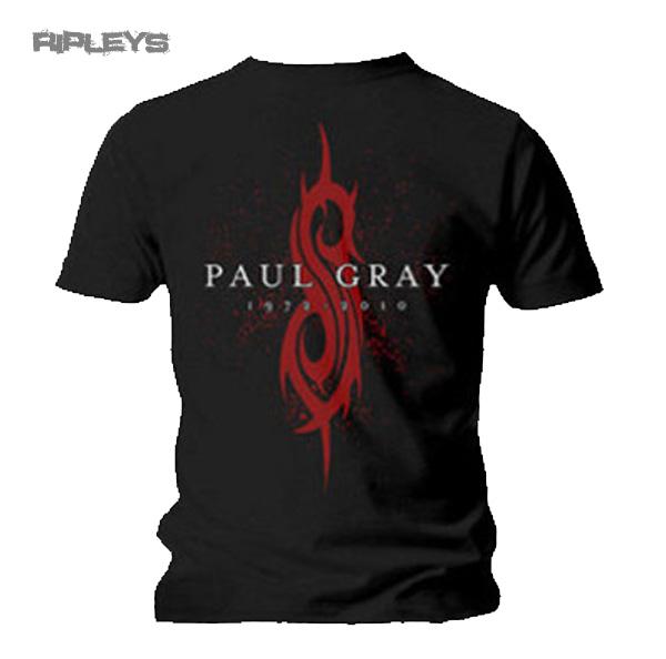 Official-T-Shirt-SLIPKNOT-Band-Logo-PAUL-GRAY-All-Sizes miniatuur 4