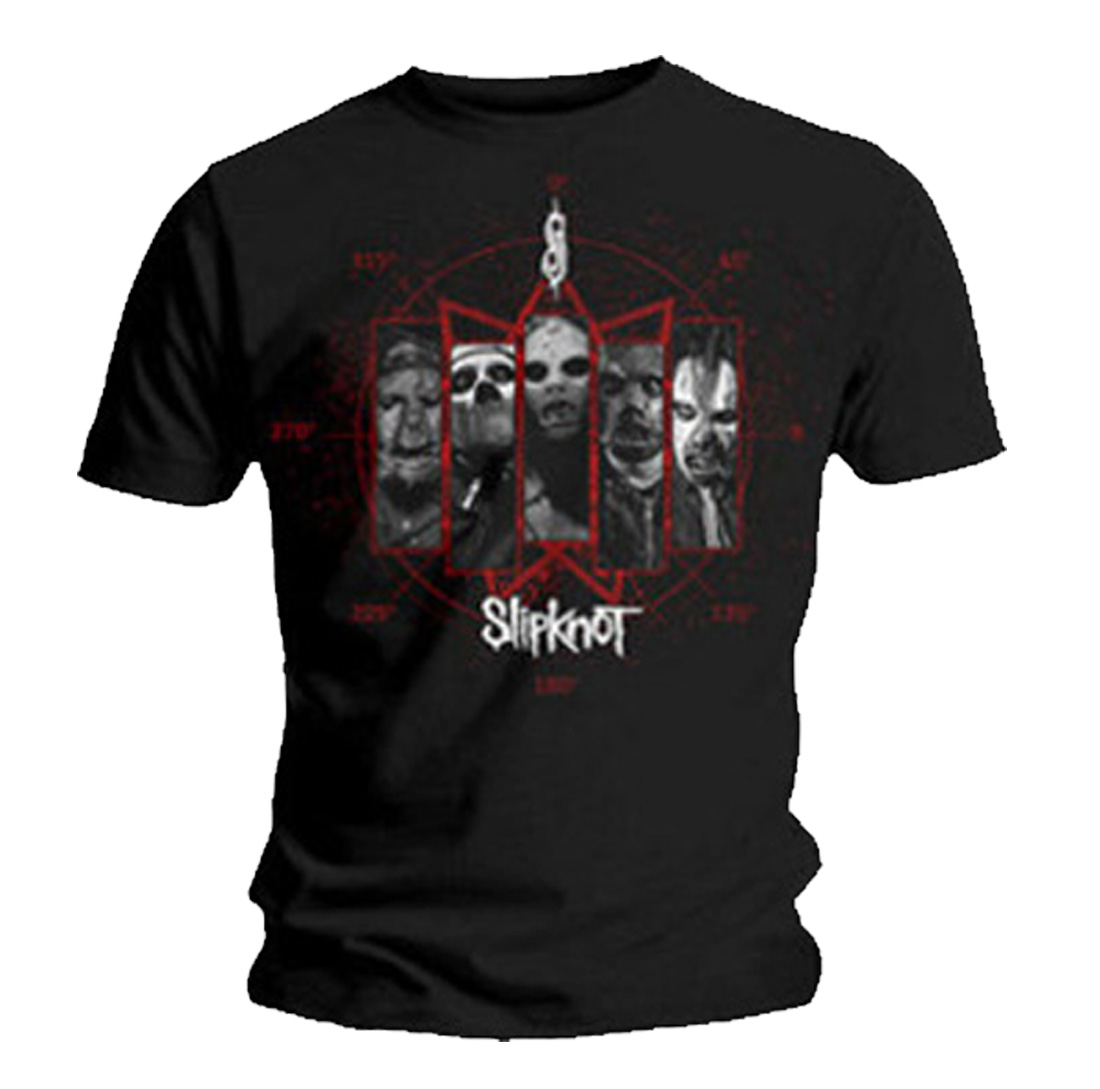 Official-T-Shirt-SLIPKNOT-Band-Logo-PAUL-GRAY-All-Sizes miniatuur 3