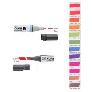 Zig Kurecolor KC3000 Twin S Marker Pens Brilliant Colours Preview