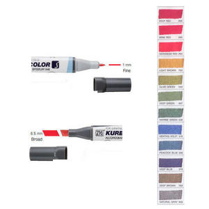 Zig Kurecolor KC3000 Twin S Marker Pens Deep Colours Preview