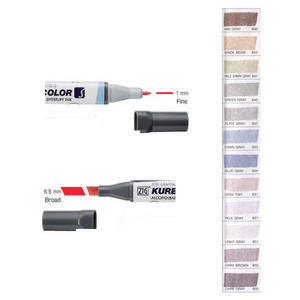 Zig Kurecolor KC3000 Twin S Marker Pens Grey Colours Preview
