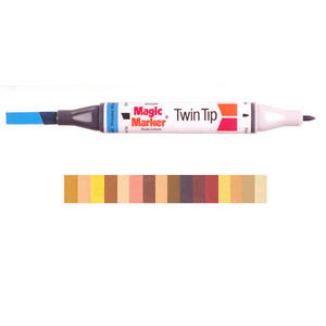 Magic Marker Twin Tip Marker Pen - Browns Preview