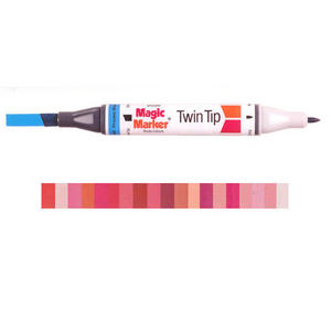 Magic Marker Twin Tip Marker Pen - Reds Preview