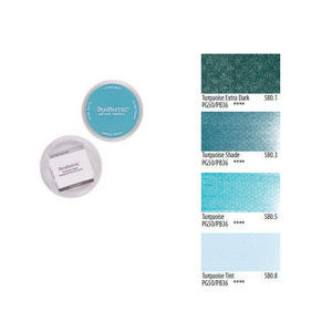 Pan Pastel Artists' Painting Pastel Turquoise Colours Preview