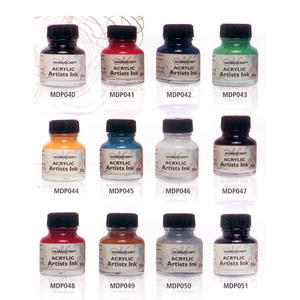 Manuscript Calligraphy Acrylic Dip Pen Ink 30ml Bottle Preview