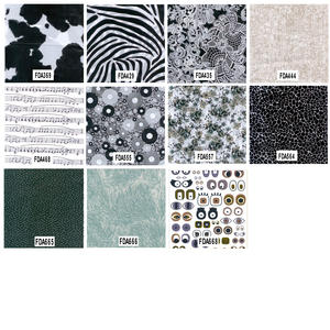 Decopatch Decoupage Printed Paper Black and White Patterns Preview