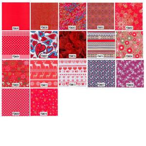 Decopatch Decoupage Printed Paper Red Patterns Preview
