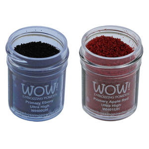 Wow! Embossing Powder 15ml - Ultra High Grade - Primary Colours Preview
