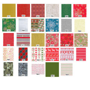 Decopatch Decoupage Printed Paper Christmas Patterns Preview