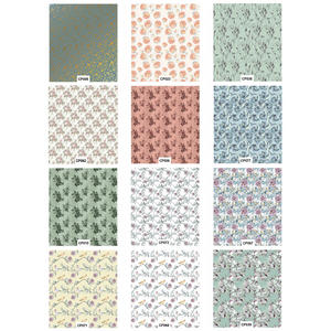 Craft Consortium Decoupage Printed Paper Pack of 3 - Floral Designs Preview
