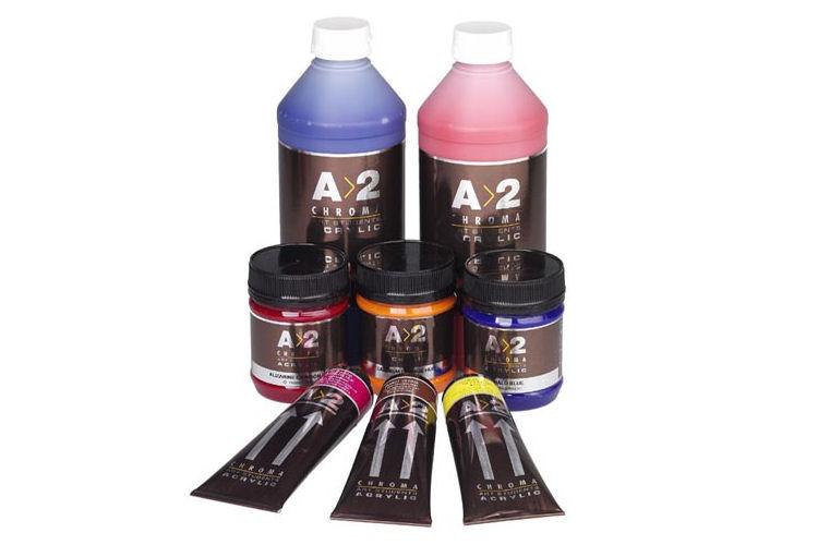 A2 Student Acrylics