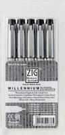 View Item Zig Millenium 5pc Technical Drawing Fine Line Pen Set