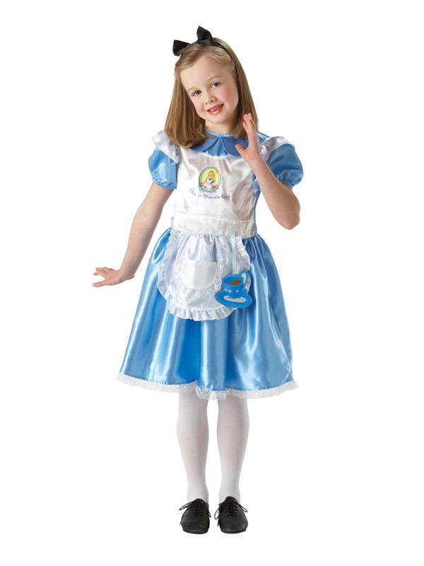Child Deluxe Alice In Wonderland Costume